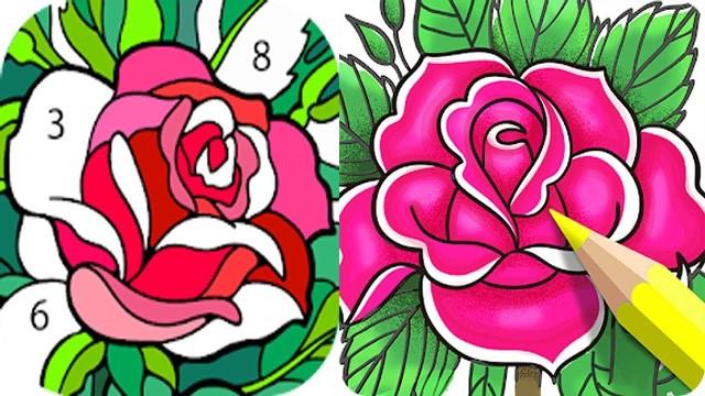 Happy Color - игра раскраска на ПК скачать бесплатно