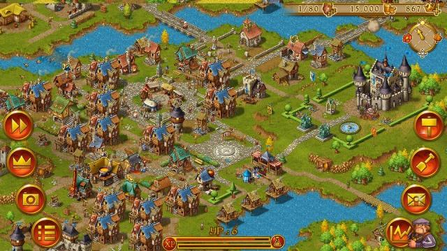 скачать игру Townsmen на компьютер бесплатно на русском - фото 5